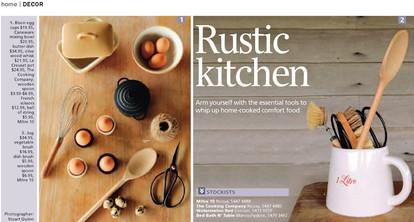 rustic kitchen 1