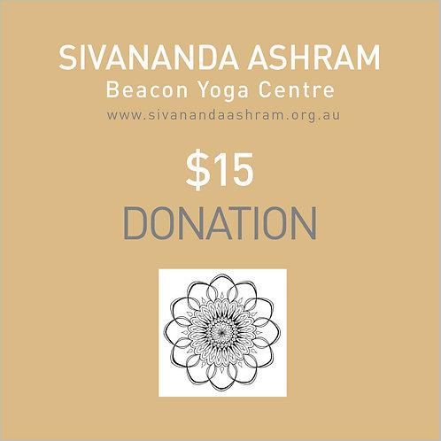Donation $15.00