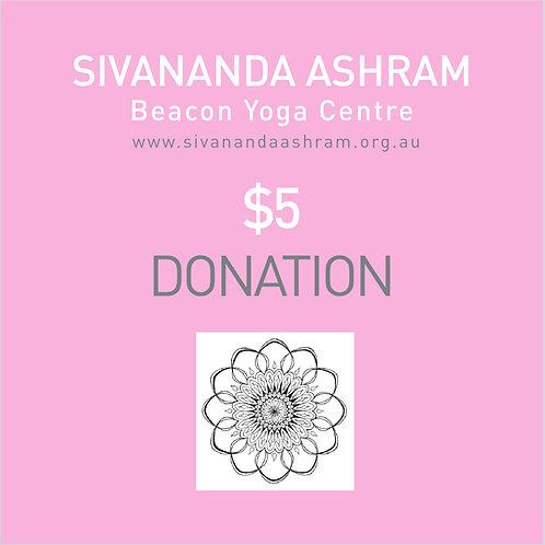 Donation $5.00