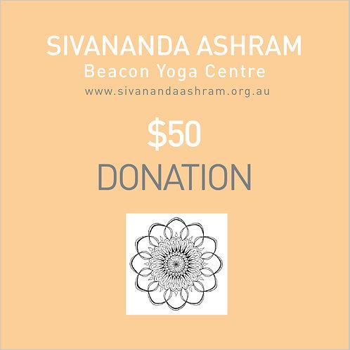 Donation $50.00