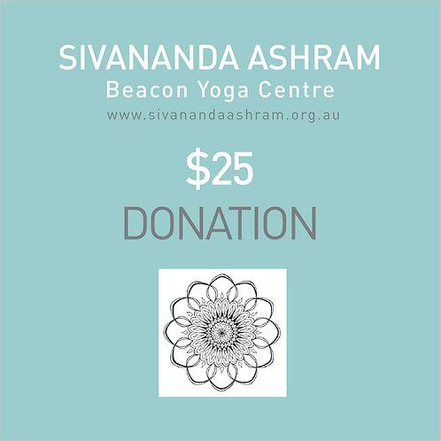 Donation $25.00