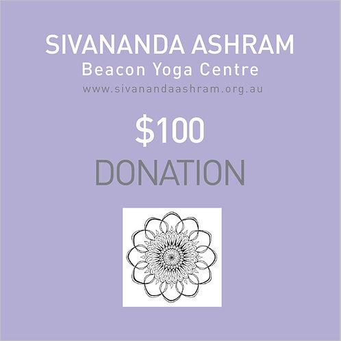 Donation $100.00