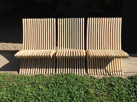 Modular design bench.