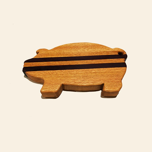 Hog Cutting Board