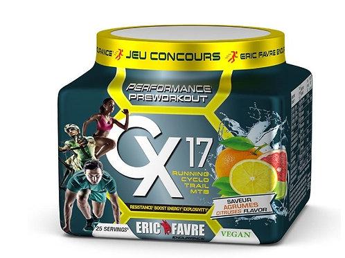 Pre Workout CX17 Spécial Trail et Runner