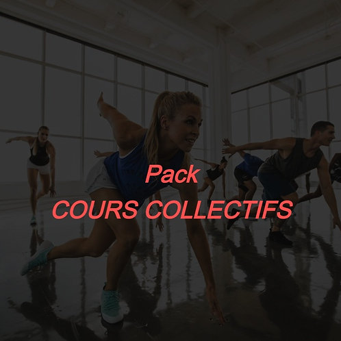 Pack COURS COLLECTIFS
