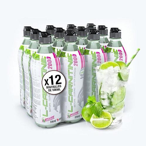 Pack de 12 boisson L-Carnitine