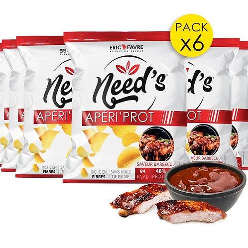 Chips Smart food - Need's Aperi'Prot x 6