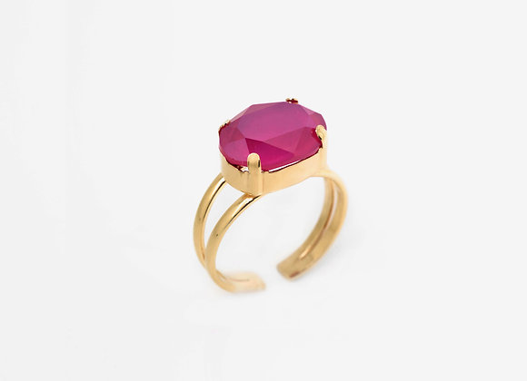 Salvatore Plata Amethyst Ring