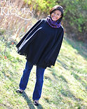 Nyla Black Colorful Scarf(8x10)(with nam