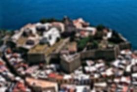 IL castello di Lipari- centro storico