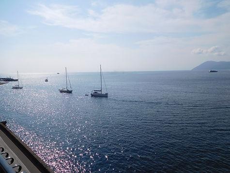 Lipari - una vista da Villa Bagnamare