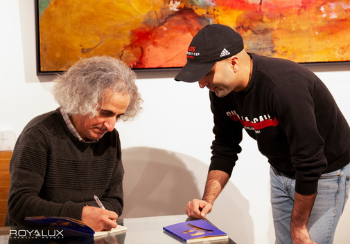 Mohsen Namjoo Book Launch