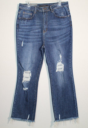 Nancy High Waist Vintage Straight Jeans