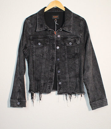 Billy Frayed Hem Washed Jacket
