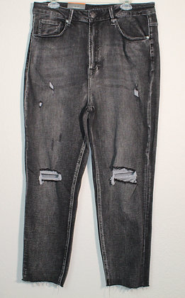 Mary High Rise Straight Jeans