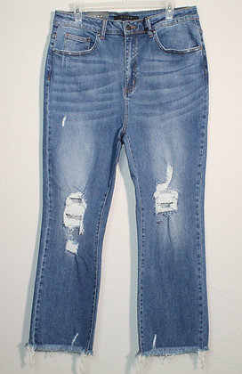 Olivia High Waist Vintage Straight Jeans