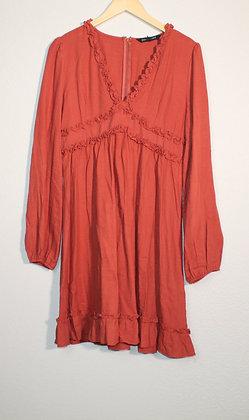 Hayden Long Sleeve Ruffle Dress