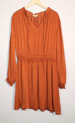 Lola Long Sleeve Smocked Waist Dress