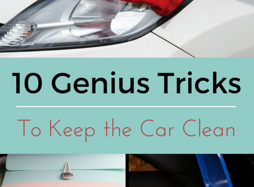 Genius Tricks To Help Clean Your Car