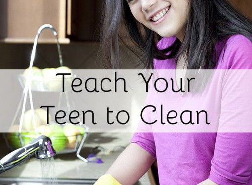 Get Your Teen To Help Clean At Home