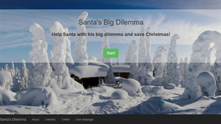 Santa's Big Dilemma - Story-driven Christmas game