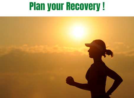 It's all about Recovery - 5 tips