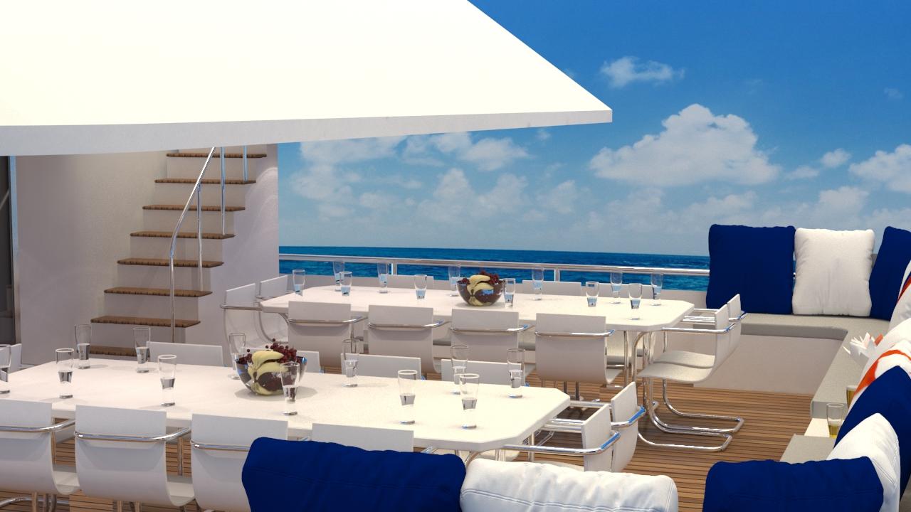 Modern yacht design