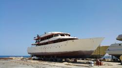 Azalea Cruise constructing