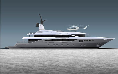 new yacht project for sale