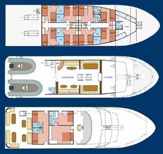 yacht general arrangement