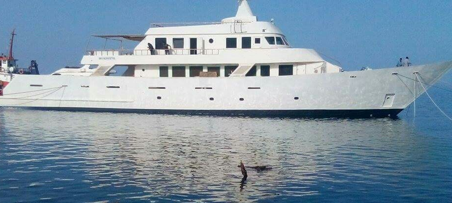 steel yacht for sale
