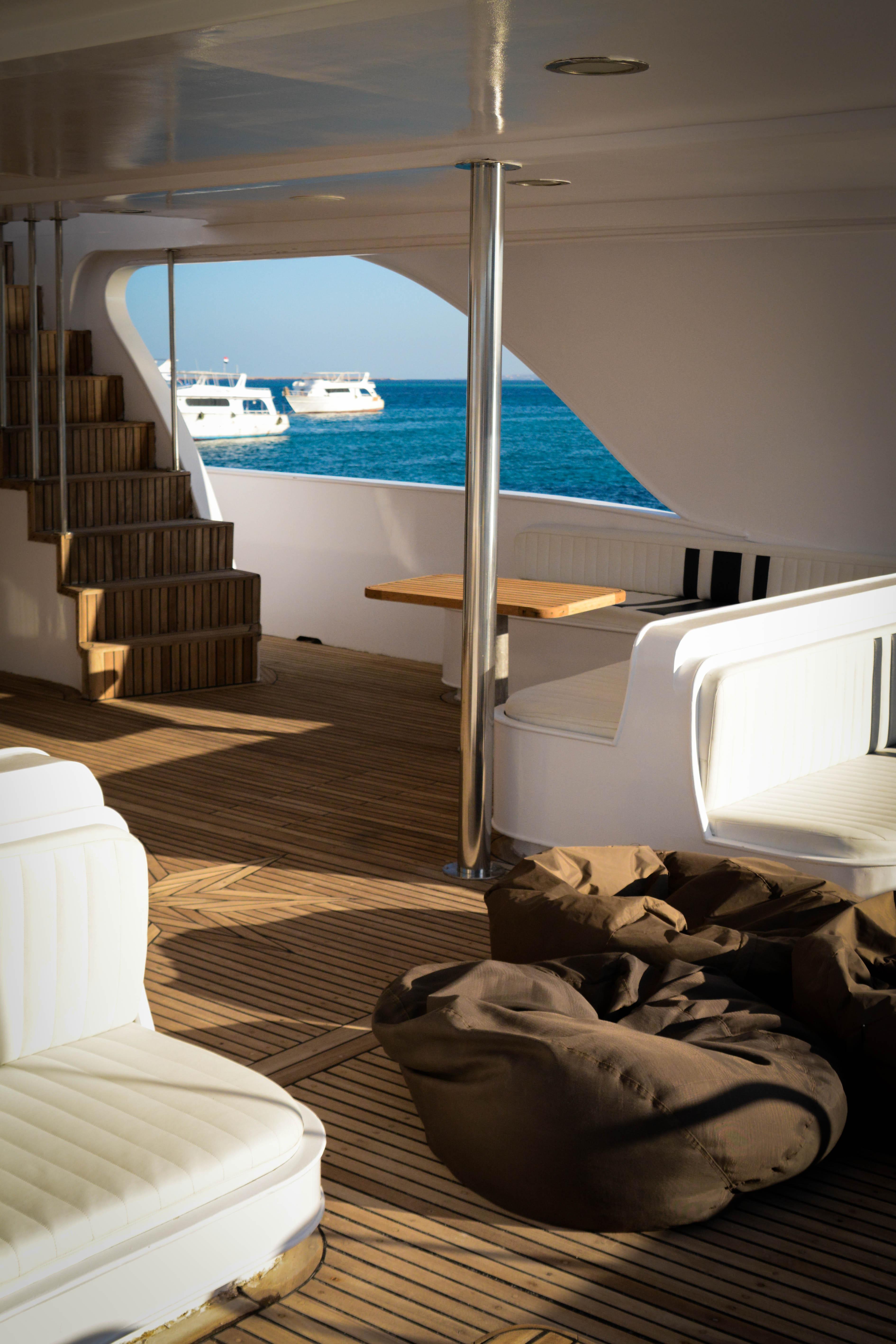 diving yacht deck