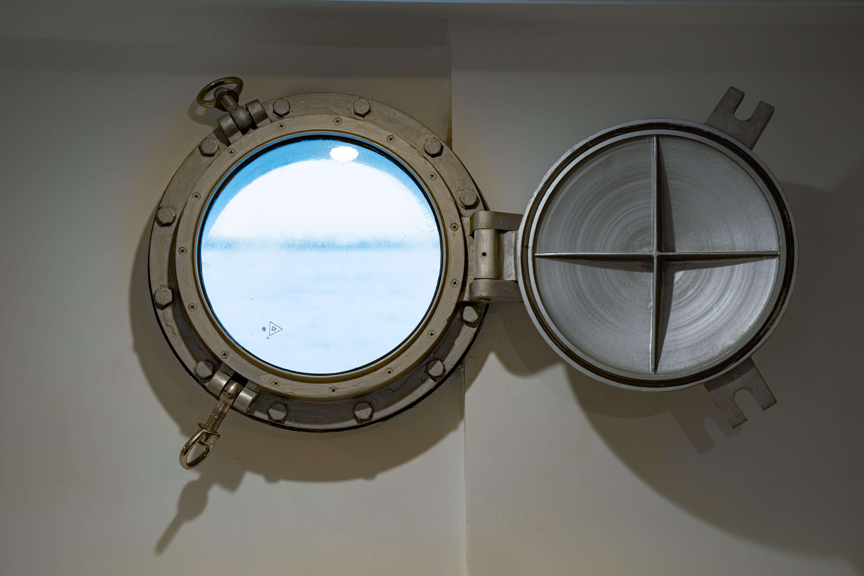 Lower deck window