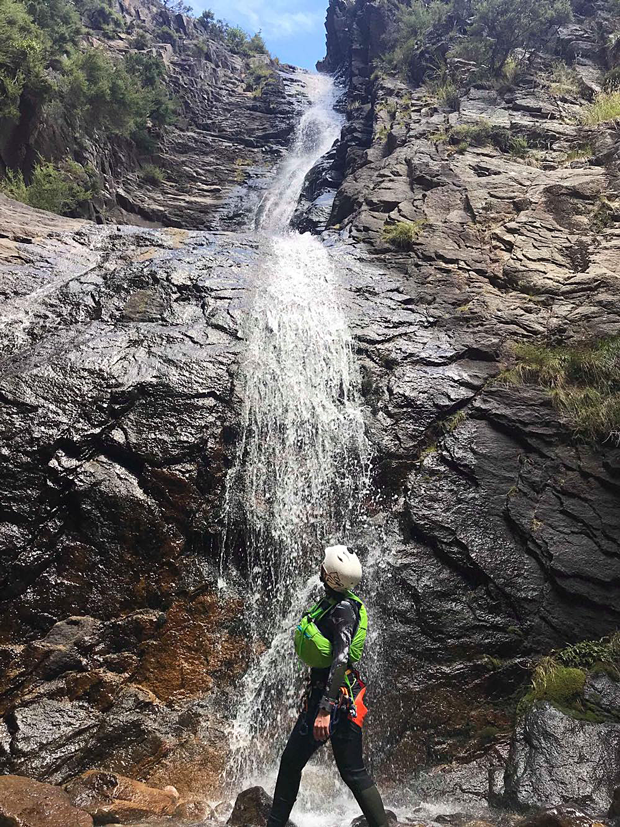 Canyoning Mt. Somers