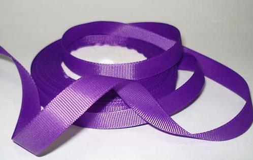 Лента упаковочная репсовая Классика, 12 мм х 22 м,фиолетовый БЛ-5632