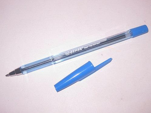 Ручка шариковая корпус прозрачный СИНЯЯ BASIR/ASMAR MC-927 (50шт/уп)