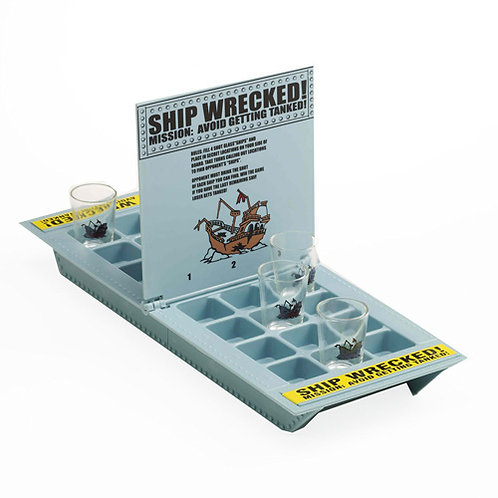 Алкогольная игра Морской бой ИН-1561