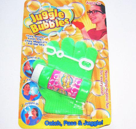 Мыльные пузыри с перчаткой 195 на планшете