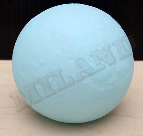 Ночник. Шар (малый),голубой, диаметр 10 см, LED УД-8640