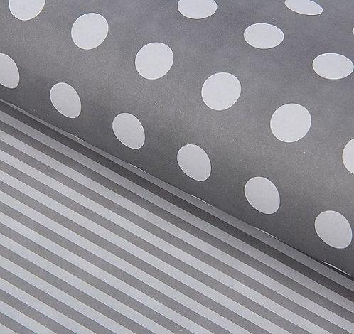 """Бумага упаковочная 600х600мм 80г/м2 глянец двусторонняя """"Ассорти"""" SL в листах (1"""