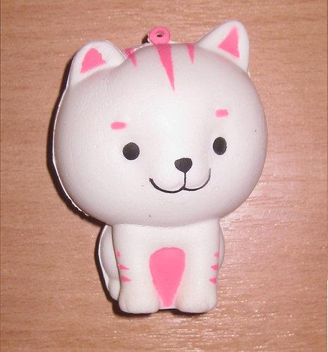 """Сквиш-антистресс """"Белый кот"""" 90х70х70мм MILAND УД-9812"""