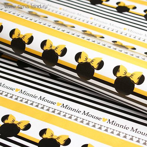 Бумага упаковочная 70х100 см, Минни Маус 4504275