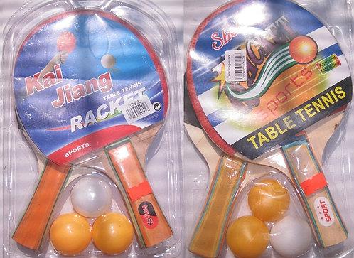 Набор для настольного тенниса+сетка FK-25422-7/4N54-3 в блистере