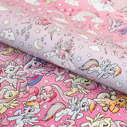Бумага упаковочная глянцевая двусторонняя, My Little Pony, 60x90 см 5414320