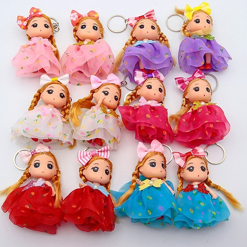 "Брелок для девочек ""Куколка"" 90мм 000957"