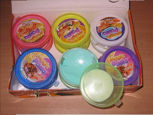 """Тесто жвачка/Суперлегкий пластилин """"Magic pasta"""" 8216"""
