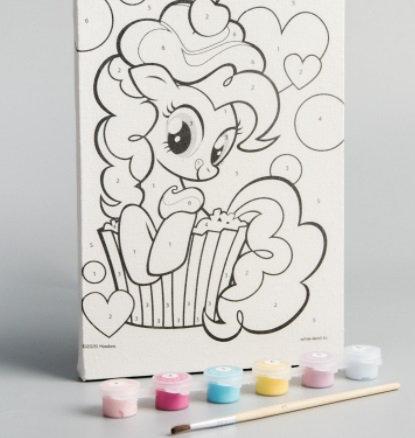 Картина по номерам «Пинки Пай», My Little Pony, 21 х 15 см