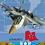 Thumbnail: Блокнот А7 40л. на гребне БЫСТРЫЕ САМОЛЕТЫ(Б40-7734) обл.-мелов. картон, блок-оф