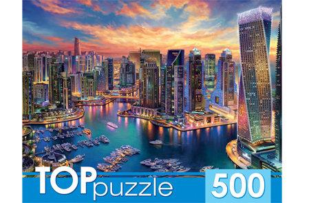 TOPpuzzle. ПАЗЛЫ 500 элементов. ХТП500-4227 ВЕЧЕРНИЙ ДУБАЙ